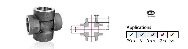 Socket Weld Cross
